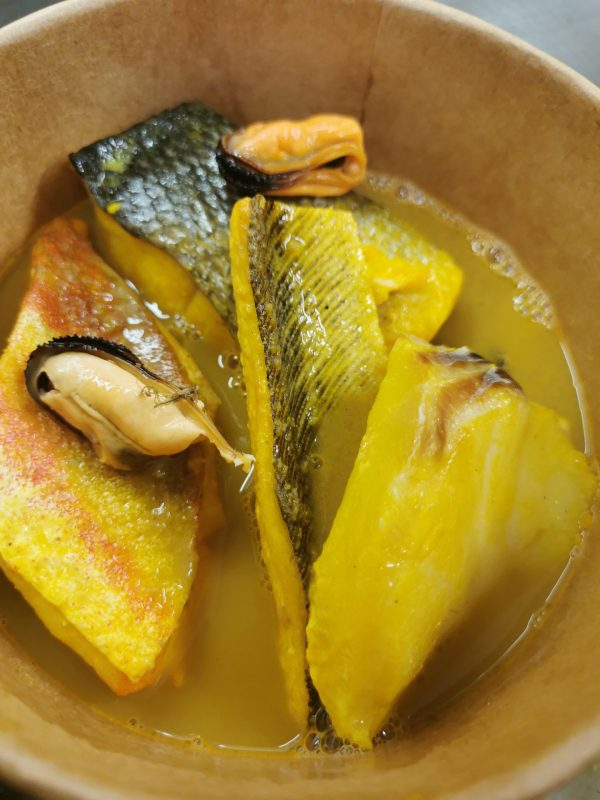 bouillabaisse de poissons