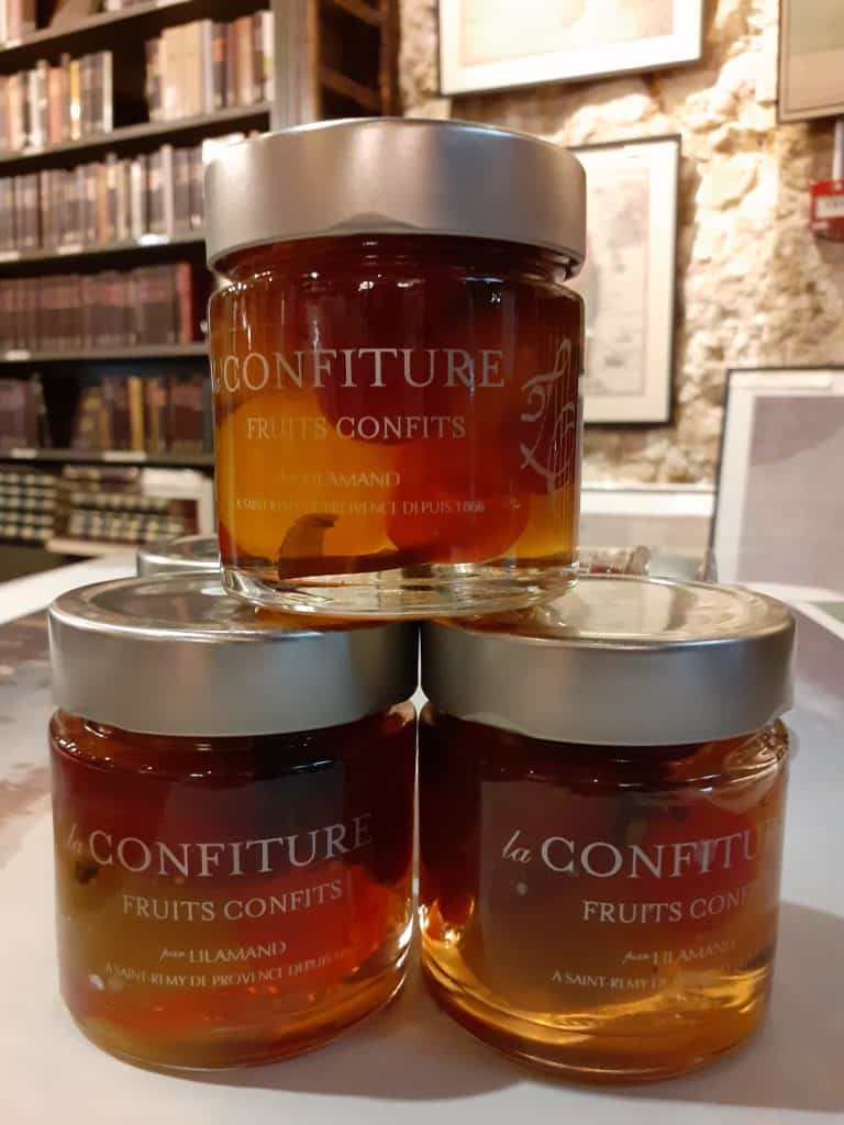 confiture fruits confits